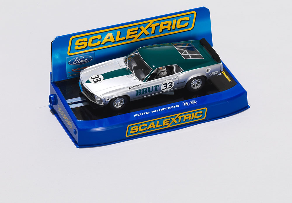 Ford Mustang Scalextric Car